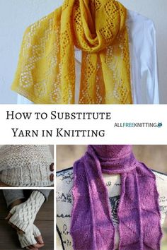 How to Substitute Yarn in Knitting | AllFreeKnitting.com