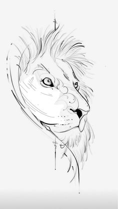 Daddy Tattoos, Leo Tattoos, Mini Tattoos, Art Drawings Sketches Simple, Tattoo Sketches, Tattoo Drawings, Lion Sketch, Lioness Tattoo, Dragon Tattoo For Women