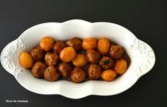 Albóndigas con salsa barbacoa en Crock Pot