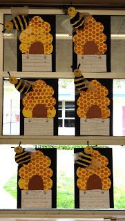 Bee craft and writing activity