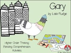 """Gary"" by Leila Rudge is shortlisted for the 2017 Children's Book Council of Australia (CBCA) Awards - Early Childhood Book of the Year. This picture book is about Gary, a racing pigeon, and his adventures when he becomes lost in the city. This 50 page teacher"