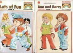 Ann and barry were very important in our lives, they taught us how to read
