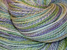TUESDAY MORNING Handspun Yarn Merino/Bamboo/Nylon