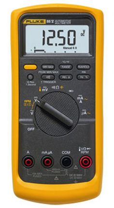 A high quality, reliability and essentially highly priced digital multimeter from a popular brand, Fluke.