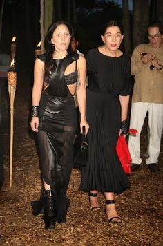 Lady Gaga stopped by the Annual Watermill Center Summer Benefit wearing a leather cutout maxi dress thing with sheer stuff and much visible bra. Lady Gaga Birthday, Happy Birthday, Marina Abramovic Spirit Cooking, Meat Dress, African American Men, The Hollywood Reporter, Two Piece Skirt Set, Model, Mariana
