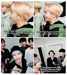 that's so hilarious and so Yoongi. XD no fuss.