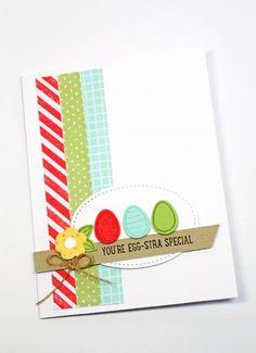 Basket Bunch stamp set, Basket Builder Framelits Dies, Stampin Up, 2017 Occasions Catalogue, Easter cards, Easter crafts, Easter basket