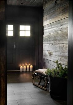 dark cozy home Cottage Interiors, Rustic Interiors, Cottage Design, House Design, Cabin Homes, Log Homes, Chalet Design, Chalet Interior, Lodge Style