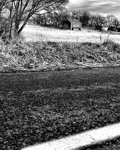 Newburg, PA - 2005.  High contrast in black & white