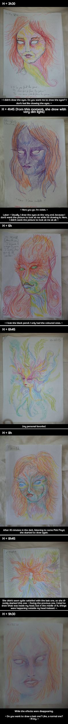 Eleven autoportraits on LSD - funny pictures #funnypictures