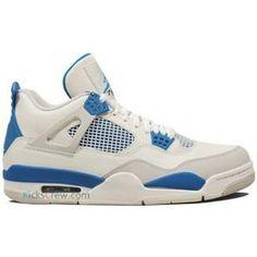 huge selection of 31597 0dbc2 http   www.anike4u.com  Air Jordan 4 Quai 54 White