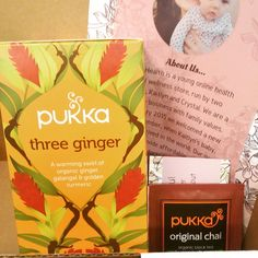 AU$7.95 // Three Ginger Pukka Tea, great for digestion and to warm you up from the inside
