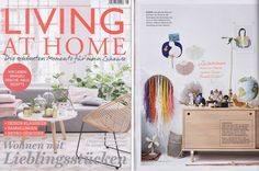 CircularD40GF featured in the May issue of Living at Home interior magazine.
