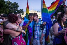Members and supporters of the lesbian, gay, transgender, bisexual and queer (LGTBQ) community attend a candlelight vigil outside the White House to honor the victims of the mass shooting at Pulse, a gay nightclub in Orlando, Florida, in Washington, DC, USA, June 12, 2016.