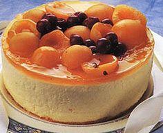 Apricot and Lemon Cheesecake