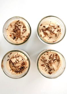 brownie pudding milky way mousse trifle