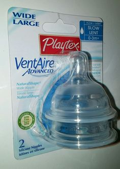 Playtex wide vent aire advanced nipple