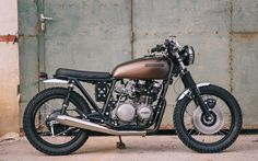 The lovely 1977 Kawa Z650B1 by Retro Bike Croatia