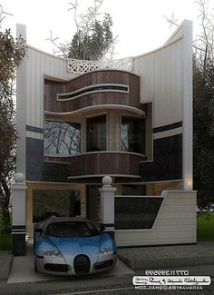 Top Amazing Modern House Designs - Engineering Discoveries Best Modern House Design, Modern Exterior House Designs, Bungalow House Design, House Front Design, Small House Design, Modern House Plans, Beautiful Modern Homes, Modern Architects, Unusual Homes