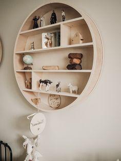 70cm runde regal Round Shelf, Wall Shelves, Floating Shelves, Bookcase, Wall Decor, Home Decor, Wall Hanging Decor, Decoration Home, Room Decor