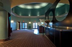 movie theatre lobby 3 Jay Burt - Yankee Dawg You Die Lobby DIsplay Portland Architecture, Stephanie Brown, Rose City, Movie Theater, Theatre, Portland Oregon, Restoration, Interior, Box Office