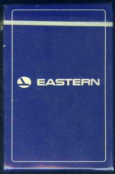 VINTAGE 1980 EASTERN  AIRLINES UNOPENED SEALED BRIDGE SIZE PLAYING CARDS