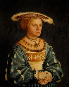 Suzanna of Bavaria, Margravine of Brandebourg-Culmbach by Barthel Beham
