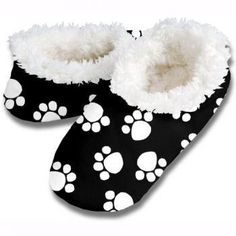 Snoozies is not a sock and not a slipper, it is a cross between the two, making them a foot covering or footie!! Made of 100% Polyester. Snoozies includes white soft fleece lining inside, overall print on the out side and non skid sole on the bottom. (This way you won't slip on the hardwood or tile floors) Machine wash cold. Tumble dry low heat. No bleach. $12.73 - $12.99 #womens #girls #slippers #soft #plush #lounge #footwear #snoozies