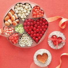 Show your affection with this modern twist on Valentine candy.