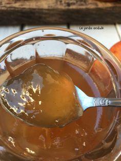 gelée de pommes aux épices de Noël Compote Recipe, Winter Food, Kraut, Coco, Sweet Recipes, Brunch, Food And Drink, Pudding, Cooking
