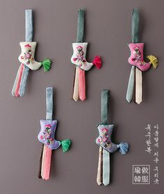 Korean Traditional, Traditional Outfits, Korean Crafts, Korean Hanbok, Key Covers, Tea Cozy, Tassels, Oriental, Quilts