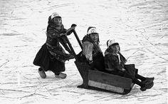 Skating on Marken #NoordHolland #Marken