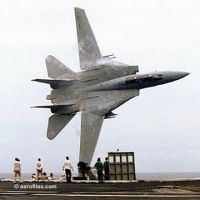 F-14 Tomcat flyby // this is another awesome plane from when I was a kid. TOP GUN