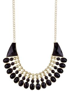 Egyptian-Style Large Statement Necklace by Olivia Welles on @HauteLook