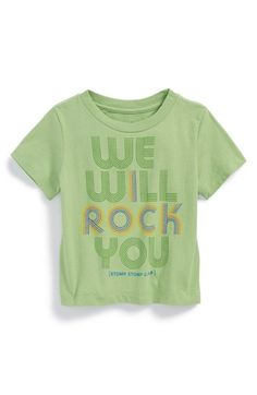 Peek 'We Will Rock You' T-Shirt (Baby Boys) available at #Nordstrom