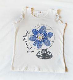 GAIALUNA  T-shirt 7-8 anni TG 32 ottime condizioni