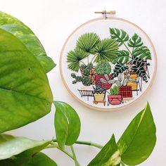 Making mini jungles. by sarahkbenning
