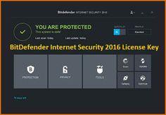 Bitdefender Internet Security 2016 License Key