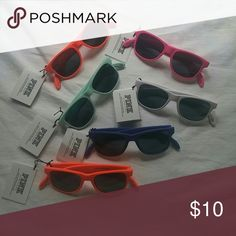 NWT Pink VS Bottle Opener Sunglasses Colors as shown in picture. Just let me know which one you want. Comes from smoke free house. I ship same day or next. PINK Victoria's Secret Accessories Sunglasses