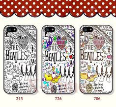 The beatles iPhone 5 case iPhone 5c case iPhone 5s case by XTime, $7.99