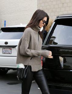 kendalljennernet:  December 20: Kendall leaving Epione in Beverly Hills (HQs):