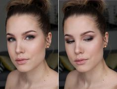 Beauty blogger Anni Jää testing the new baking trend using Lumene Color Correcting Foundation, Arctic Sun Skin Tone Perfector and Longwear Blur Foundation. Gorgeous! #foundation #lumene