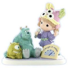Disney Precious Moments Figurine - Laughter Gives Friends Power