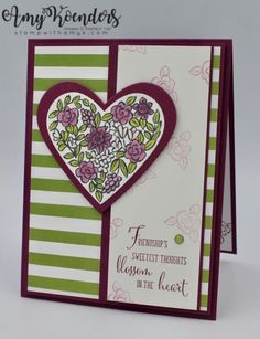 Stampin' Up! Heart Happiness for Fab Friday – Stamp With Amy K