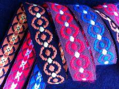 Circle Patterned Vintage Braid 3m