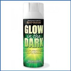 Rust-Oleum Glow In The Dark Bright Green Spray Paint - 400ml