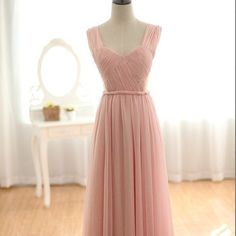 Bridesmaid Dresses  Blush Pink Bridesmaid Dress / by dresstells, $119.99