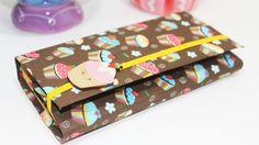 DIY -  Estojo com Caixa de Leite -  Back to School -  Segredos de Aline