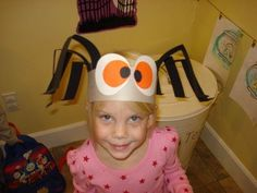 Brilliant Beginnings Preschool: Halloween Spider Hat how-to