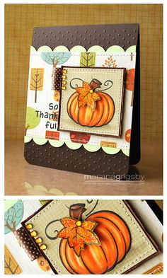 the Lawn Fawn blog: Lawn Fawn DT Round Up! {Halloween and Fall Inspiration} (cool card! slm)